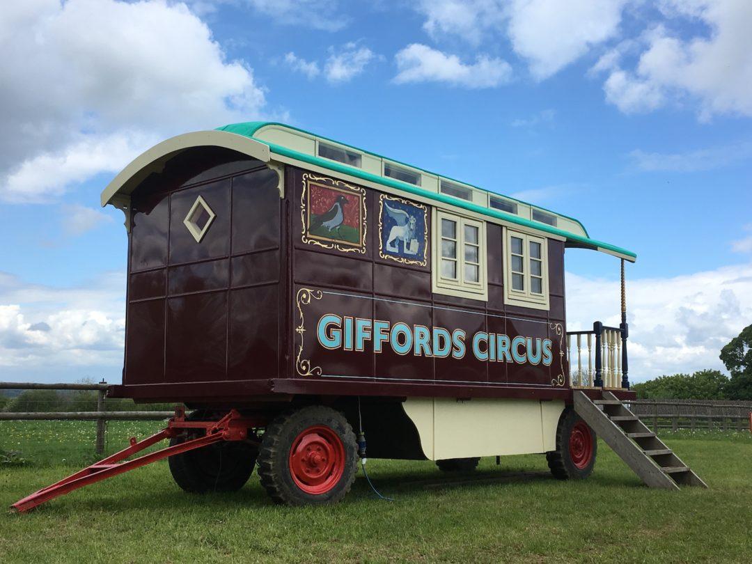 Giffords Circus Wagon