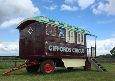 Giffords Circus Wagon